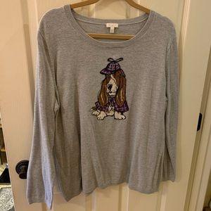 **New Listing- Talbots Dog Sweater